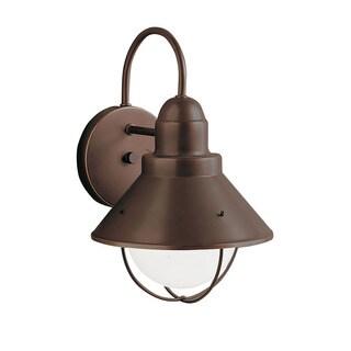 Kichler Lighting Seaside Collection 1-light Olde Bronze Outdoor Wall Lantern