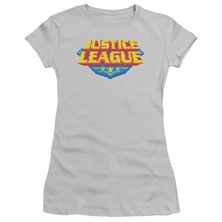 JLA/8 Bit Logo Junior Sheer in Silver
