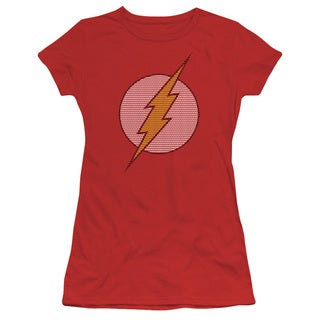 DC/Flash Little Logos Junior Sheer in Red