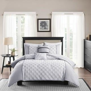 Madison Park Michelle Grey 5-piece Comforter Set