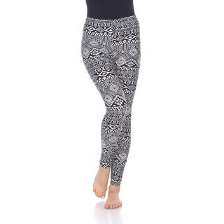 White Mark Women's Printed One Size Fits Most Leggings