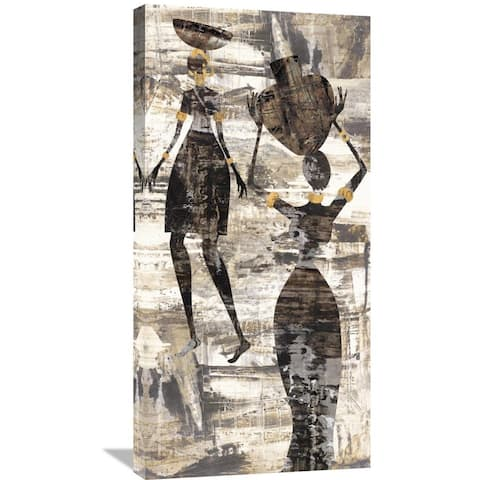 Global Gallery Cynthia Fields 'Africa I' Stretched Canvas Artwork