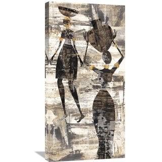 Big Canvas Co Cynthia Fields 'Africa I' Stretched Canvas Artwork