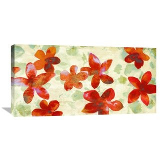 Global Gallery Kelly Parr 'Happy Printemps' Stretched Canvas Artwork