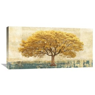 Big Canvas Co Leonardo Bacci 'Gilded Oak' Stretched Canvas Artwork