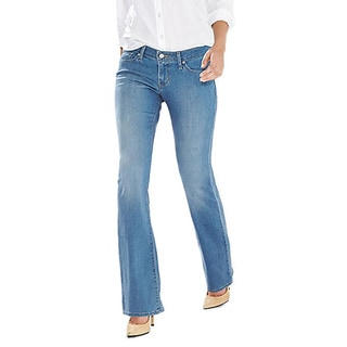 Levi's Women's 524 Light Blue Boot-cut Jeans