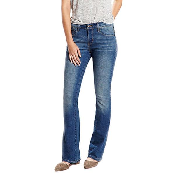 9919ac011d2 ... Juniors' Pants. Levi's Women's 524 Light Blue Straight Jeans