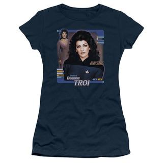 Star Trek/Deanna Troi Junior Sheer in Navy