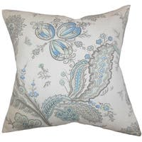 Dilys Floral Throw Pillow Cover