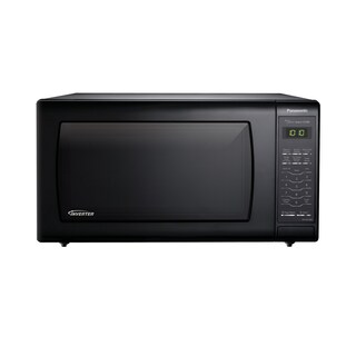 Panasonic Microwave Oven with Inverter Technology, Black