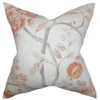 Ivria Floral Throw Pillow Cover Bloom