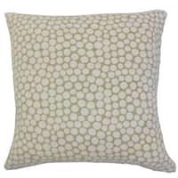 Elif Polka Dot Throw Pillow Cover