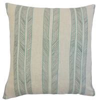 Drum Stripes Throw Pillow Cover