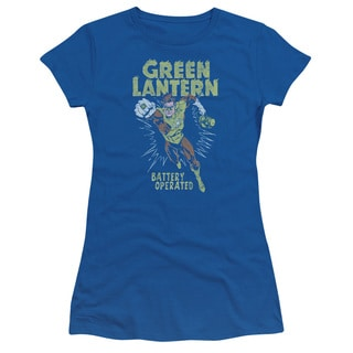 Green Lantern/Fully Charged Junior Sheer in Royal Blue