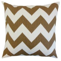 Maillol Zigzag Throw Pillow Cover