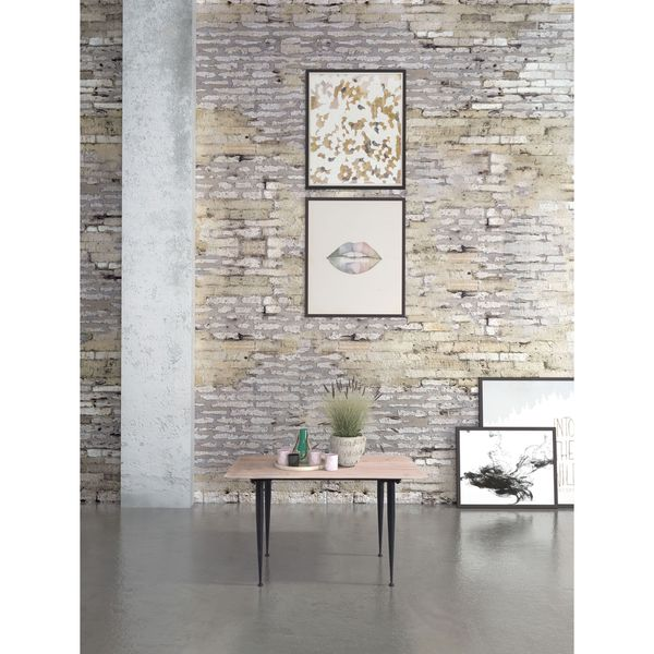 Distressed Natural Wood Coffee Table: Shop Zuo More Distressed Natural Wood And MDF Coffee Table