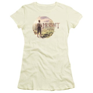 The Hobbit/Hobbit in Circle Junior Sheer in Cream