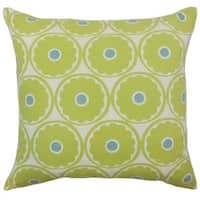 Day Floral Throw Pillow Cover