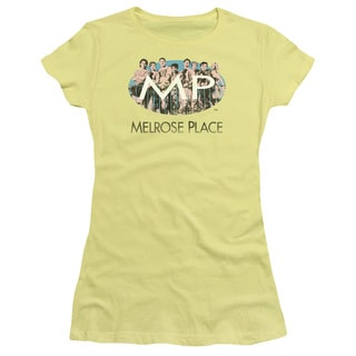 Melrose Place/Meet At The Place Junior Sheer in Banana