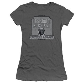 Grizzly Adams/Survival Junior Sheer in Charcoal