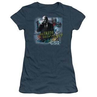CSI/Truth Doesn't Sleep Junior Sheer in Indigo