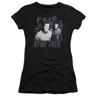 Star Trek/Kirk Spock and Company Junior Sheer in Black