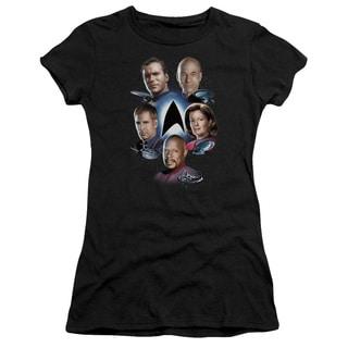Star Trek/Starfleet's Finest Junior Sheer in Black
