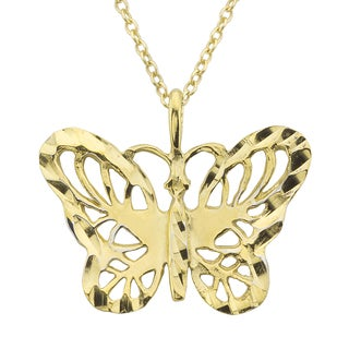 Haven Park Butterfly Pendant Necklace