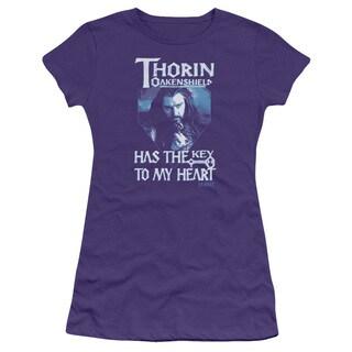 The Hobbit/Thorins Key Junior Sheer in Purple