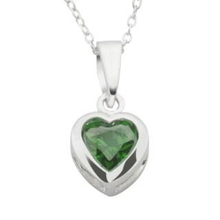 Haven Park Sterling Silver Heart Pendant