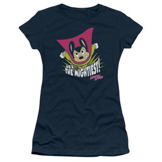Mighty Mouse/The Mightiest Junior Sheer in Navy