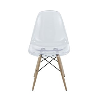 Modway Pyramid Beech Wood/Acrylic Dining Side Chair