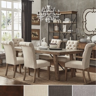 buy french country kitchen dining room sets online at overstock rh overstock com french country white kitchen table and chairs french country kitchen table sets