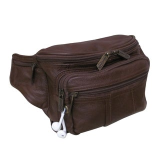 Amerileather Easy Traveller Leather Fanny Pack (More options available)