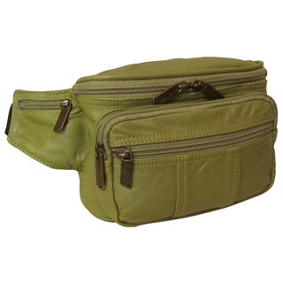 Amerileather Easy Traveller Leather Fanny Pack