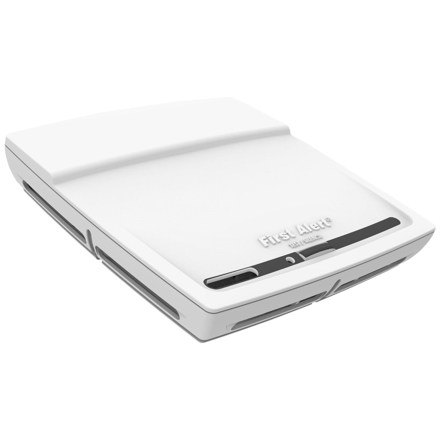 First Alert White 2-in-1 Photoelectric Battery-operated C...