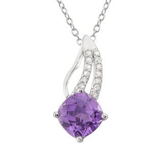 Haven Park Amethyst Pendant Necklace