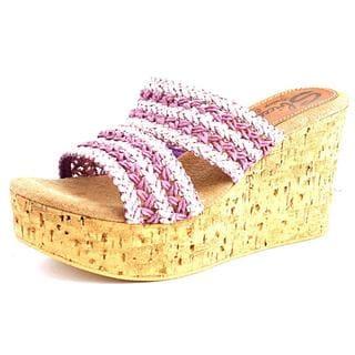 Sbicca Women's Viejo Basic Textile Sandals