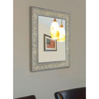 American Made Rayne Maclaren Pewter Vanity Wall Mirror