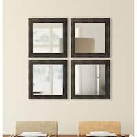 American Made Rayne Brushed Classic Brown Square Mirror Sets
