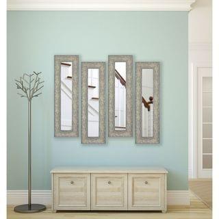 American Made Rayne Maclaren Pewter Panel Mirrors