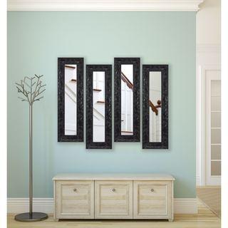 Rayne Black Endicott Panel Mirrors