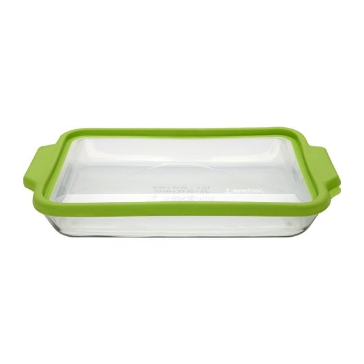10 Piece Glass Kitchen Casserole Set Rectangle Clear Baking Dish with Lids