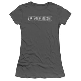 Riverside Distressed Junior Sheer in Charcoal