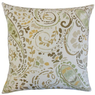 Robbia Floral Throw Pillow Cover Dusk
