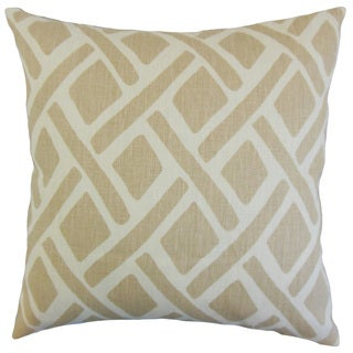 Satchel Geometric Throw Pillow Cover