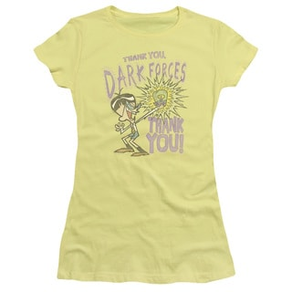 Dexter's Laboratory/Dark Forces Junior Sheer in Banana