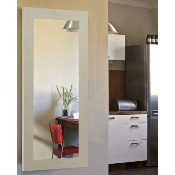 American Made Rayne Arctic Ivory Body Mirror - White