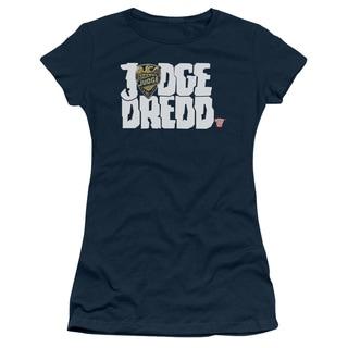 Judge Dredd/Logo Junior Sheer in Navy