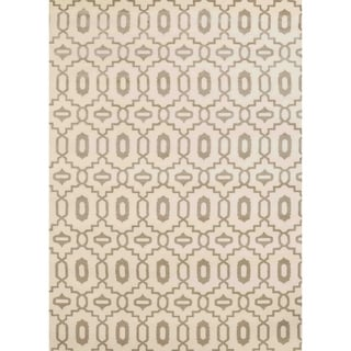 Admire Home Living Bronte Orb Ivory Olefin Area Rug (7'10 x 10'6)